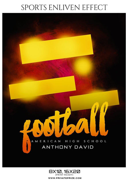 Anthony David - Football Sports Enliven Effect Photography Template