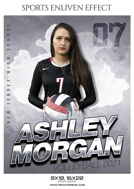 Ashley Morgan - Volleyball -VOLLEY BALL ENLIVEN EFFECT