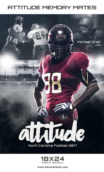 Attitude Sports - Enliven Effects - Photography Photoshop Templates