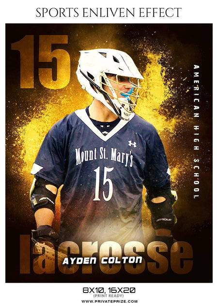 Ayden Colton - LACROSSE- ENLIVEN EFFECTS