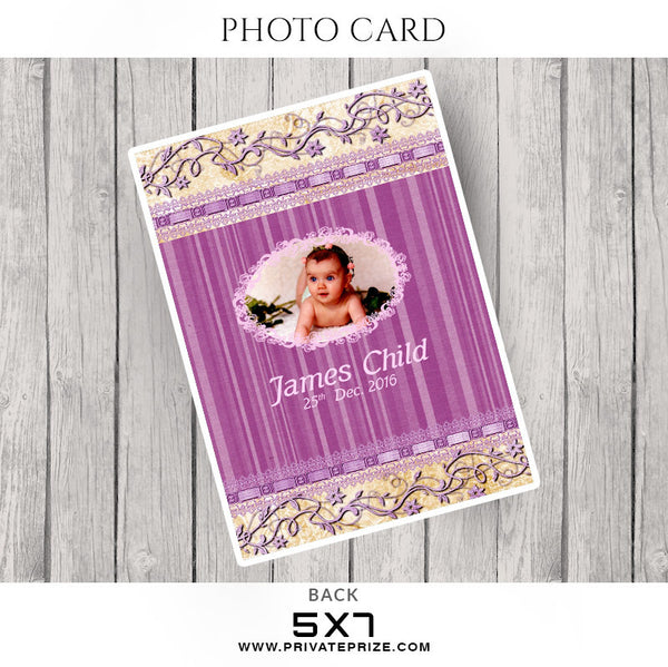 Our New Love-Photocard - Photography Photoshop Templates