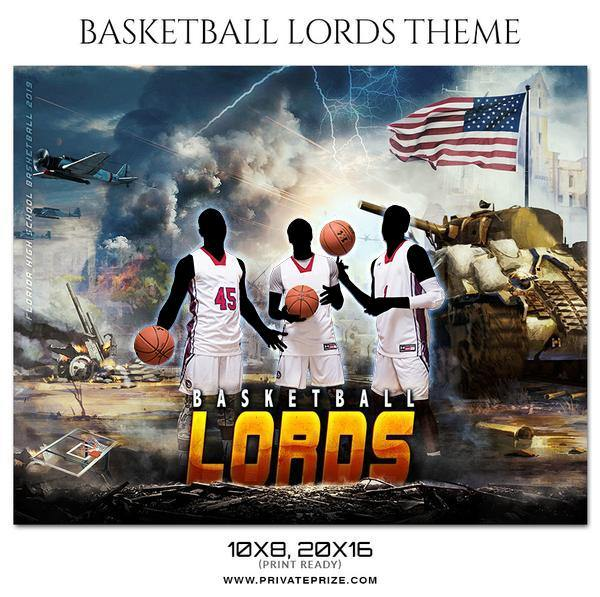 Basketball Lords - Theme Sports Photography Template