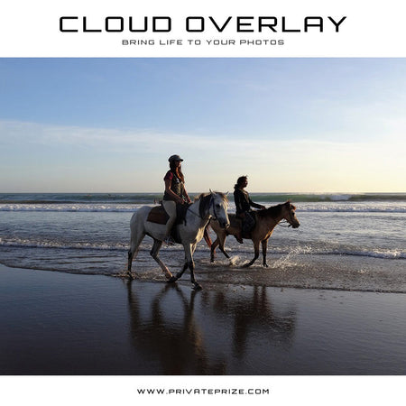 Cloud Overlay - Beautify - Photography Photoshop Templates