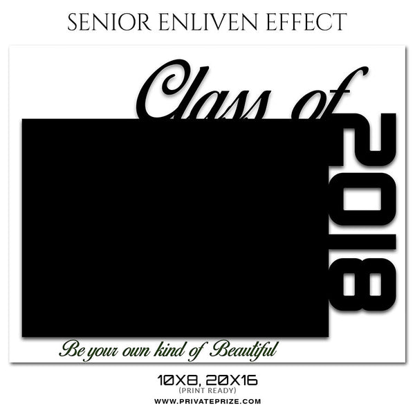 BE YOUR OWN - SENIOR ENLIVEN EFFECT