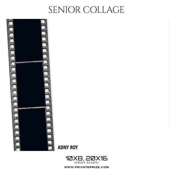 Andy Roy - Senior Collage Photography Template - Photography Photoshop Template