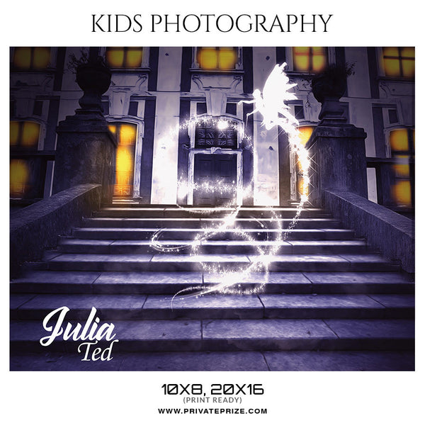 JULIA TED - KIDS PHOTOGRAPHY - Photography Photoshop Template