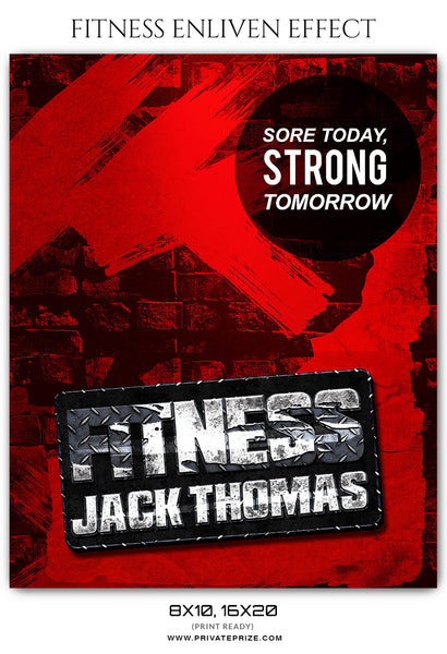 JACK THOMAS FITNESS SPORTS ENLIVEN EFFECT