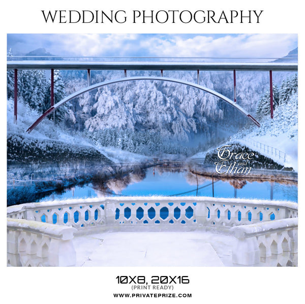 GRACE AND ETHAN - WEDDING PHOTOGRAPHY - Photography Photoshop Template