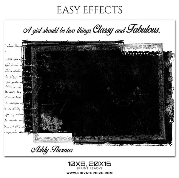 ASHLY THOMAS - EASY EFFECTS - Photography Photoshop Template