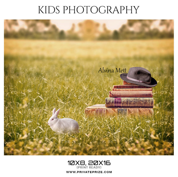 Alvina Mett - Kids Photography Photoshop Templates - Photography Photoshop Template