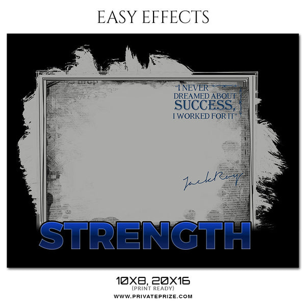 STRENGTH - EASY EFFECTS SPORTS PHOTOGRAPHY