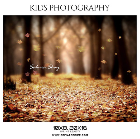 Sahara Shay - Kids Photography Photoshop Templates - Photography Photoshop Template