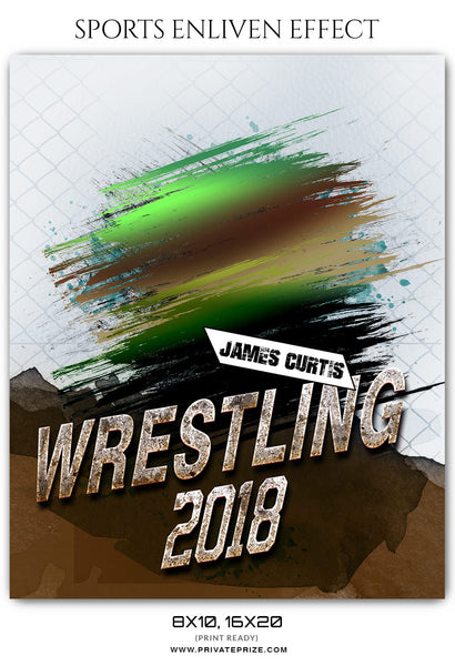 JAMES CURTIS WRESTLING- SPORTS ENLIVEN EFFECT