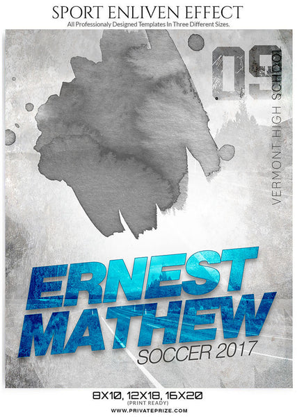 Ernest- Enliven Effects - Photography Photoshop Templates