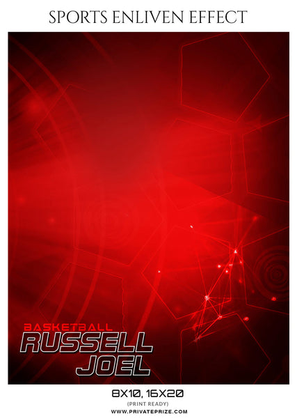 RUSSELL JOEL - SPORTS ENLIVEN EFFECTS - Photography Photoshop Template
