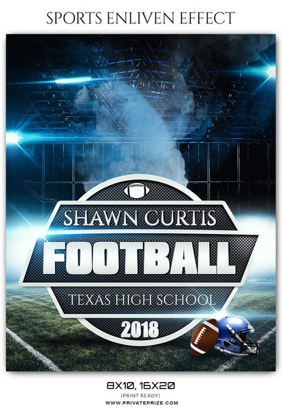 SHAWN CURTIS - FOOTBALL SPORTS PHOTOGRAPHY