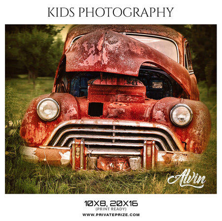 ALVIN  - KIDS PHOTOGRAPHY - Photography Photoshop Template