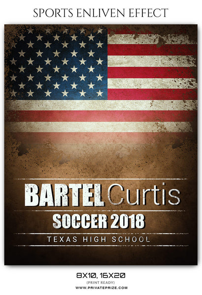 BARTEL CURTIS SOCCER - SPORTS PHOTOGRAPHY - Photography Photoshop Template