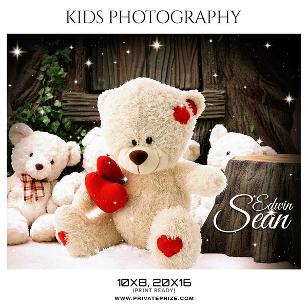 Edwin Sean - Kids Photography - Photography Photoshop Template