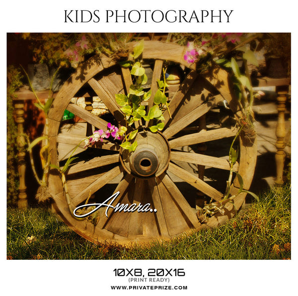 AMARA - KIDS PHOTOGRAPHY - Photography Photoshop Template