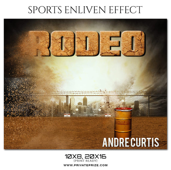 ANDRE CURTIS RODEO - SPORTS ENLIVEN EFFECT