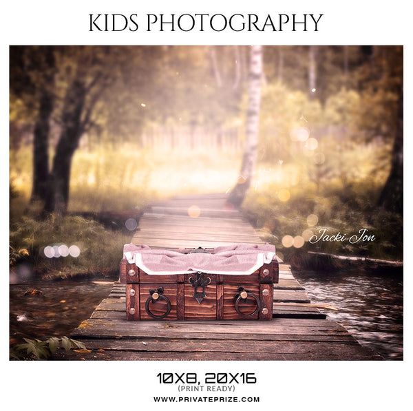 Jacki Jon  - Kids Photography Photoshop Templates - Photography Photoshop Template