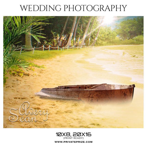 AVERY SEAN - WEDDING PHOTOGRAPHY - Photography Photoshop Template