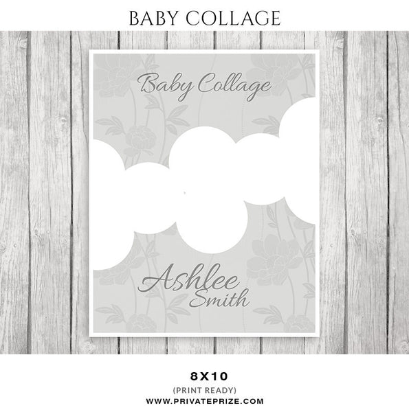 Baby Collage Set - Ashlee Smith - Photography Photoshop Templates