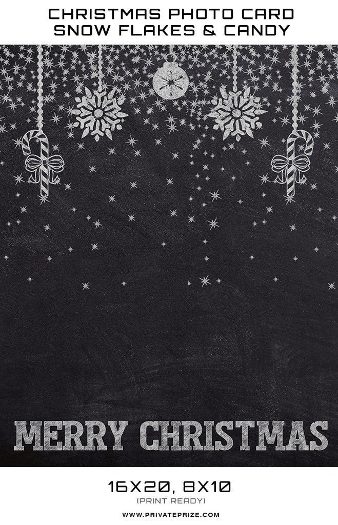 Christmas Chalkboard.Christmas Chalkboard Snowflakes And Candy Digital Background Template