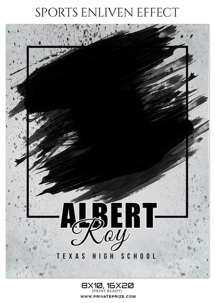 ALBERT ROY FOOTBALL SPORTS PHOTOGRAPHY - Photography Photoshop Template