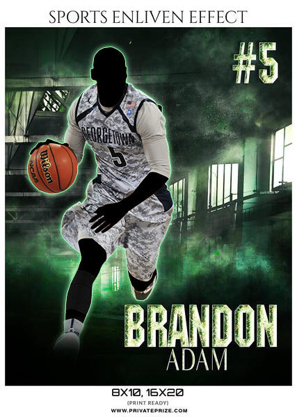BRANDON ADAM BASKETBALL- SPORTS ENLIVEN EFFECTS