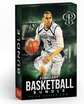 February Basketball Bundle - Photography Photoshop Template