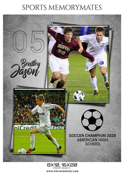 Bentley Jason  - Soccer Memory Mate Photoshop Template