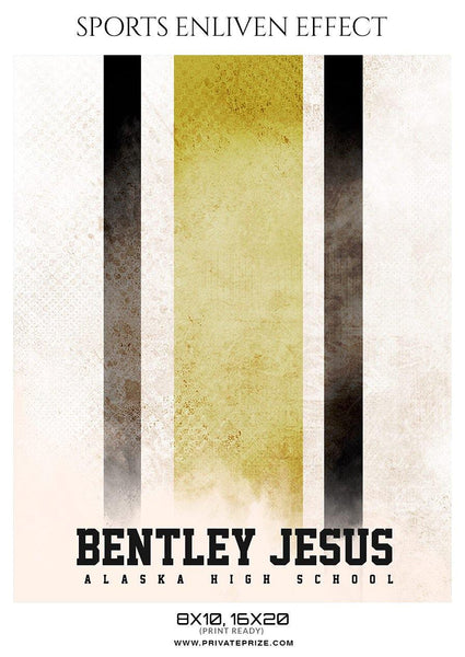 Bentley Jesus - Football Sports Enliven Effect Photography Template