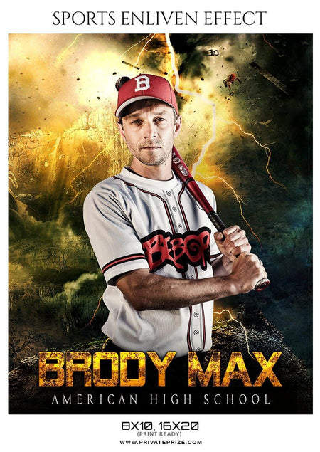 Brody Max - Baseball Enliven Effect