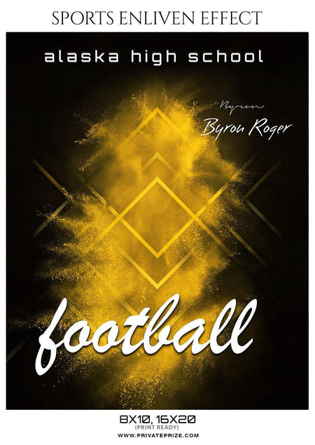 Byron Roger - Football Sports Enliven Effect Photography Template