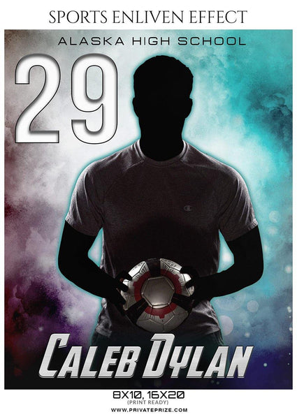 Caleb Dylan - Soccer Sports Enliven Effects Photography Template