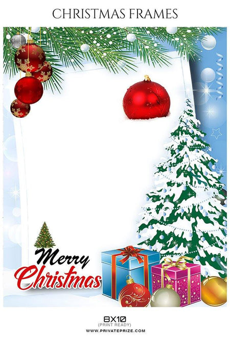 Christmas Frame - Photography Photoshop Template