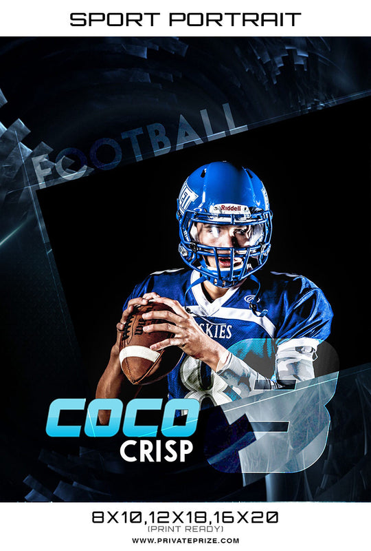 Coco-Sport-Portrait - Photography Photoshop Templates