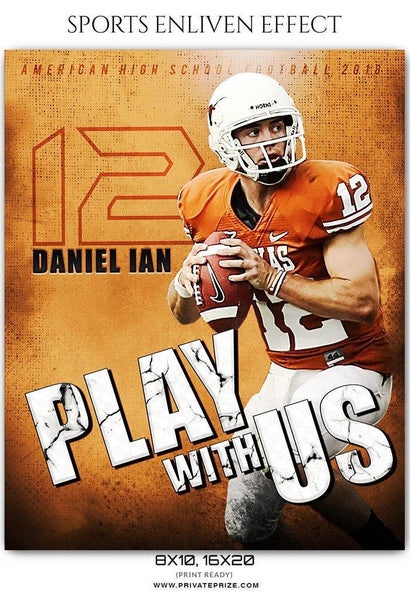 Daniel Ian - Football Sports Enliven Effects Photography Template