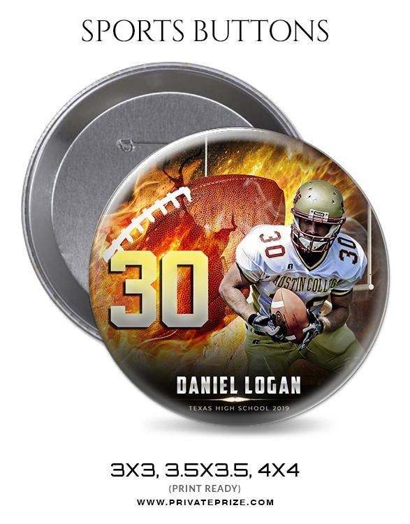 Daniel Logan - Football Sports Button