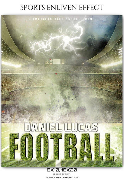 Daniel Lucas - Football Sports Enliven Effects Photography Template