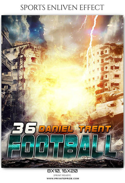 Daniel Trent - Football Sports Enliven Effects Photography Template