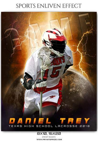Daniel Trey - Lacrosse Sports Enliven Effects Photography Template
