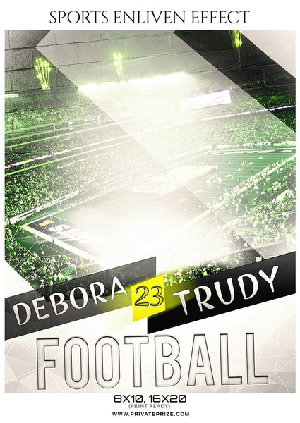 Debora Trudy - Football Sports Enliven Effect Photography Template