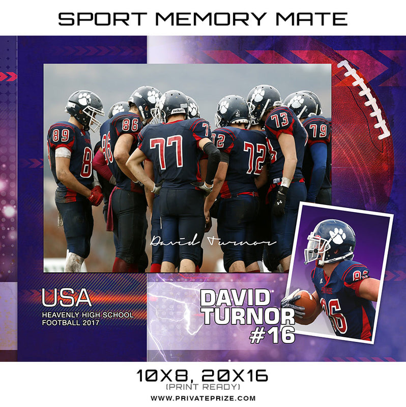 David Turnor Memory Mates - Photography Photoshop Template