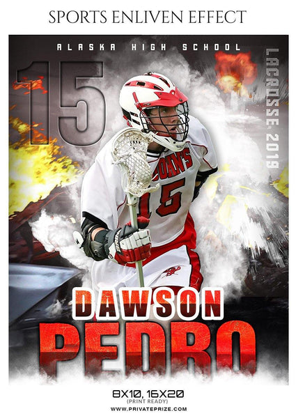 Dawson Pedro - LACROSSE SPORTS ENLIVEN EFFECT