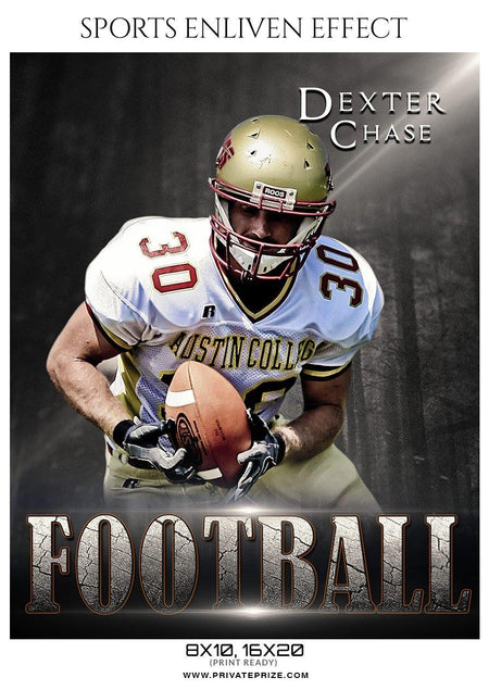 Dexter Chase - Football Sports Enliven Effect Photography Template