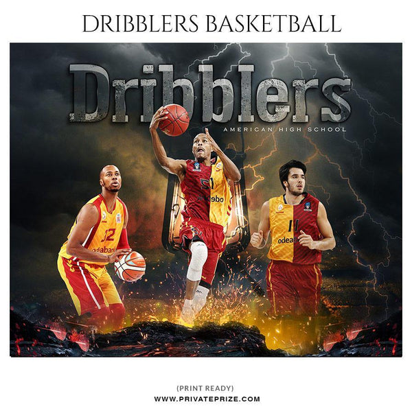 Dribblers - Themed Sports Photography Template