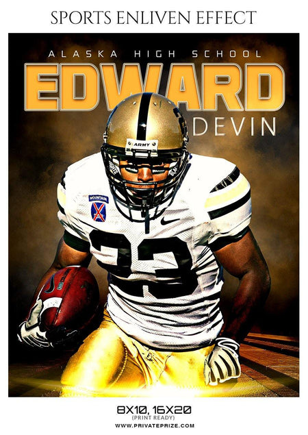Edward Devin - Football Sports Enliven Effect Photography Template